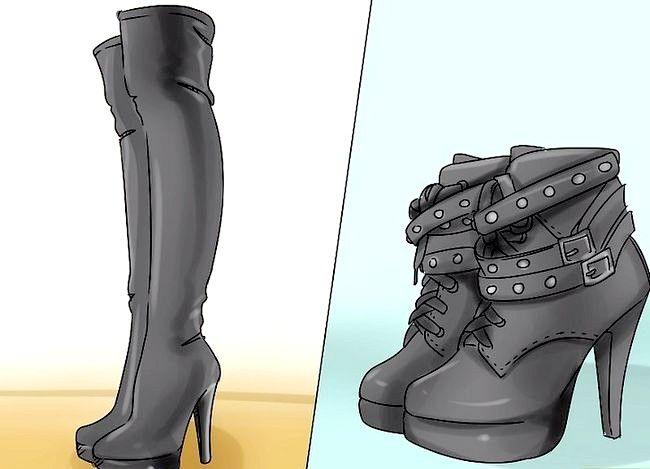 Billed betegnelse Wear Boots Trin 1