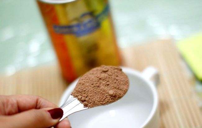Billedbetegnelse Brug kakao som chokolade erstatning Trin 1