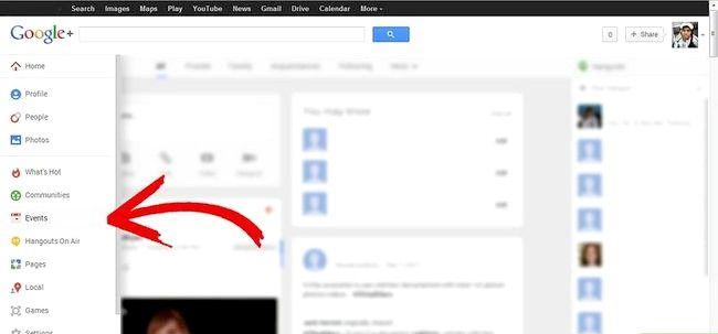 Sådan bruger du begivenheder i Google Plus