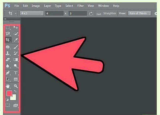 Sådan bruges værktøjerne i Adobe Photoshop CS6