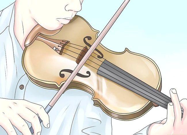 Sådan bruger du de udsøgte teknikker til at bue på en violin