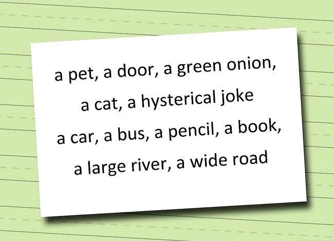 Sådan bruger du `a` og `an` artikler korrekt på engelsk