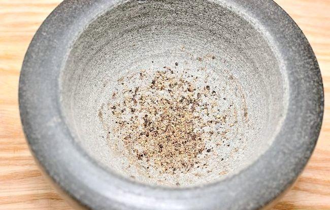 Billedbetegnelse Brug et mørtel og pestle Trin 7