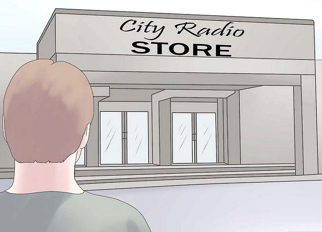 Billedbetegnelse Brug et Shortwave Radio Trin 1