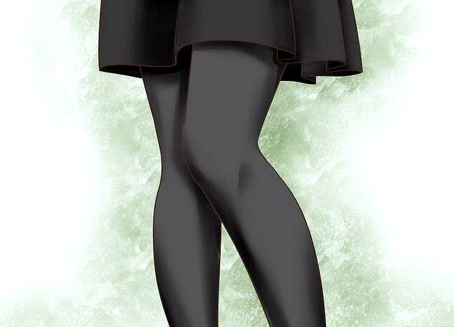 Billedets titel Bær en sort nederdel 8 forskellige måder Trin 40