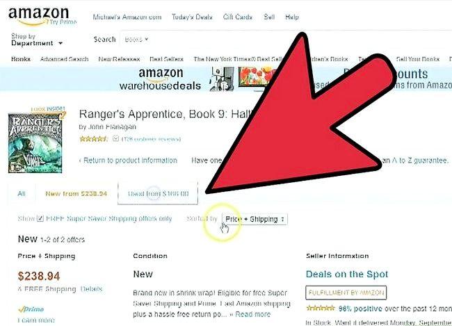 Billede med titlen Sælg bøger på Amazon Trin 12