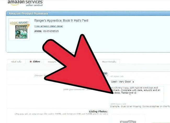 Billedbetegnelse Sælg bøger på Amazon Trin 15