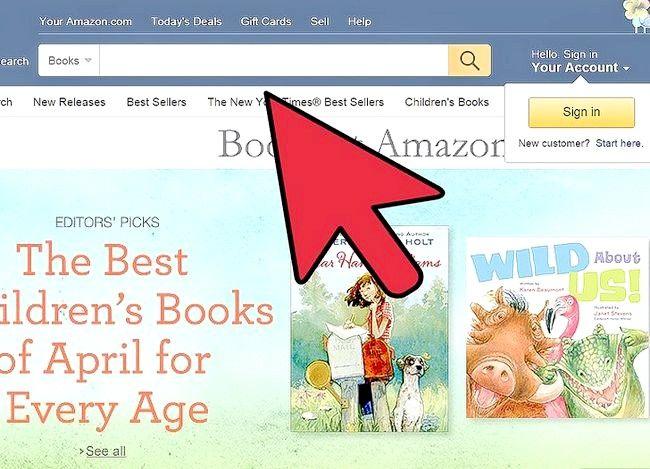 Billedbetegnelse Sælg bøger på Amazon Trin 3