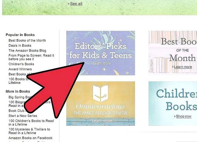 Billedbetegnelse Sælg bøger på Amazon Trin 4