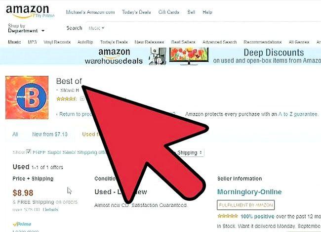 Billede med titlen Sælg bøger på Amazon Trin 6