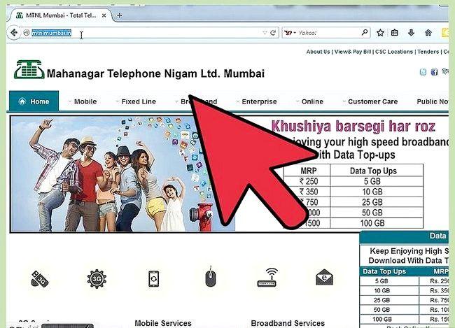 Sådan kontrolleres brugen af internetdata i MTNL