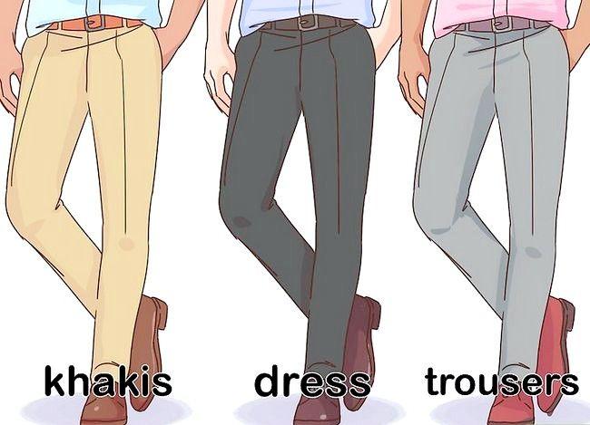 Billede med titlen Dress Business Casual Step 11
