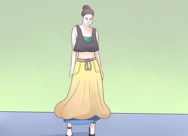 Billed betegnet Dress L.A. Afslappet trin 12