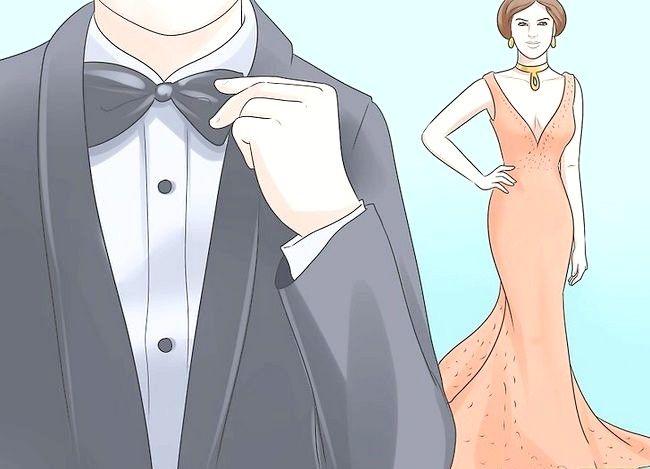 Billedbetegnelse Kjole til en Black Tie Event Trin 5