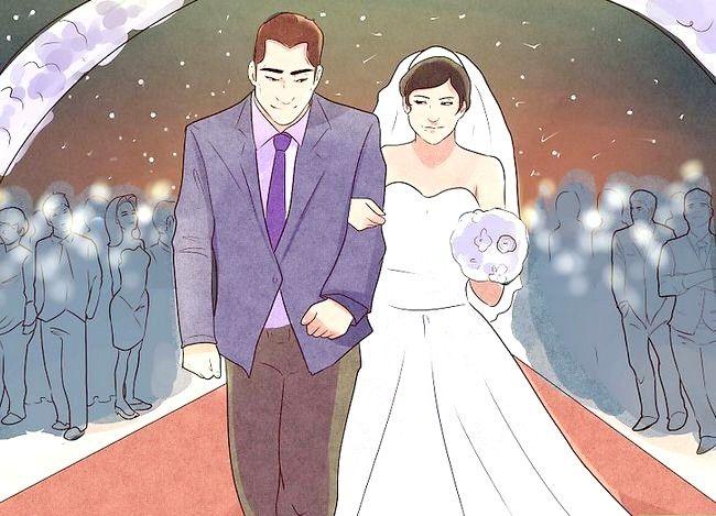 Billede med titlen Kjole til et udendørs bryllup Trin 10
