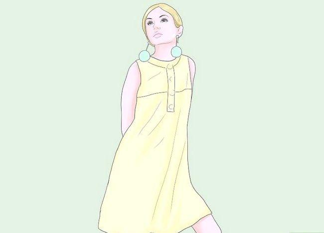 Billede med titlen Kjole som et mod Trin 4