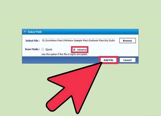 Billedbetegnelse Se en PST-fil uden Outlook installeret ved hjælp af PST File Viewer Trin 3
