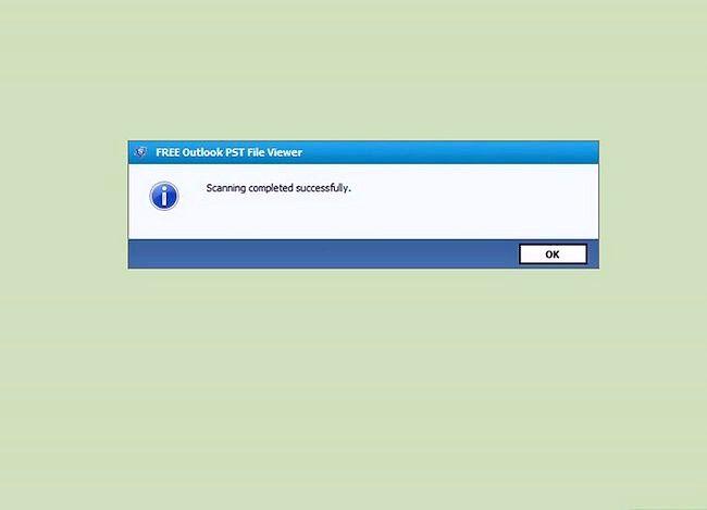 Billedbetegnelse Se en PST-fil uden Outlook installeret Brug med PST File Viewer Trin 4